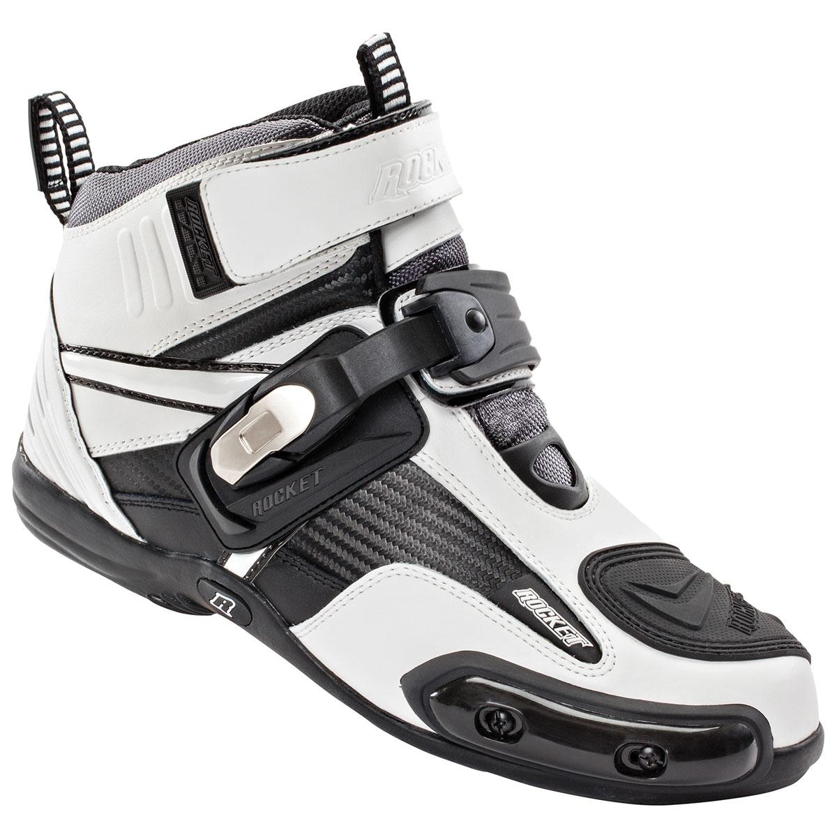 Joe Rocket Men's Atomic White/Black Boots