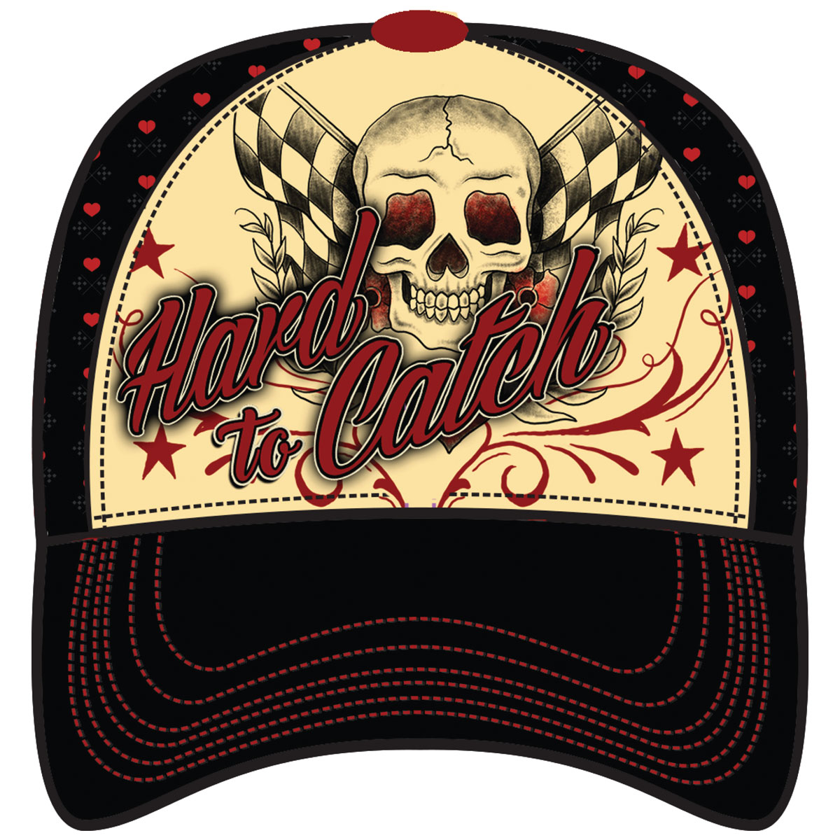 Lethal Angel Women's Hard To Catch Snap Back Hat