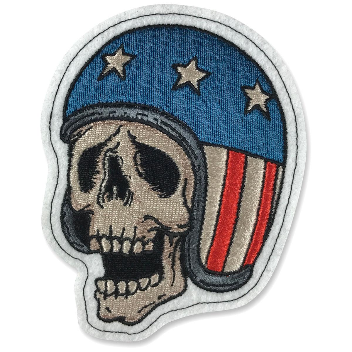 Lethal Threat Skull USA Helmet 3.75