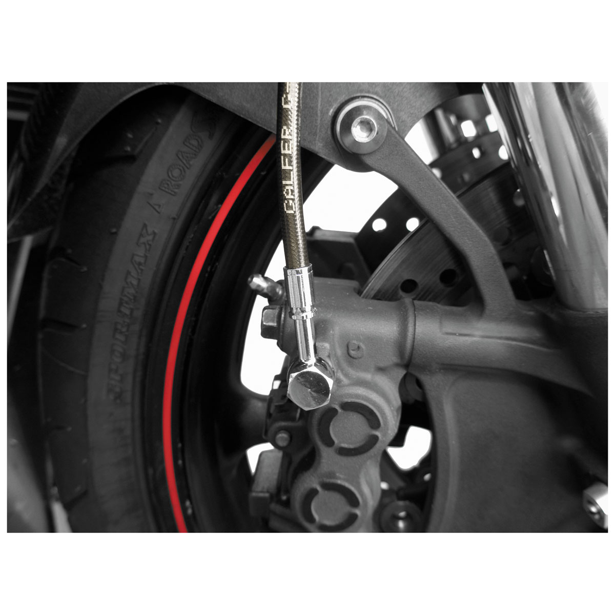 Galfer USA Smoke Front Brake Lines
