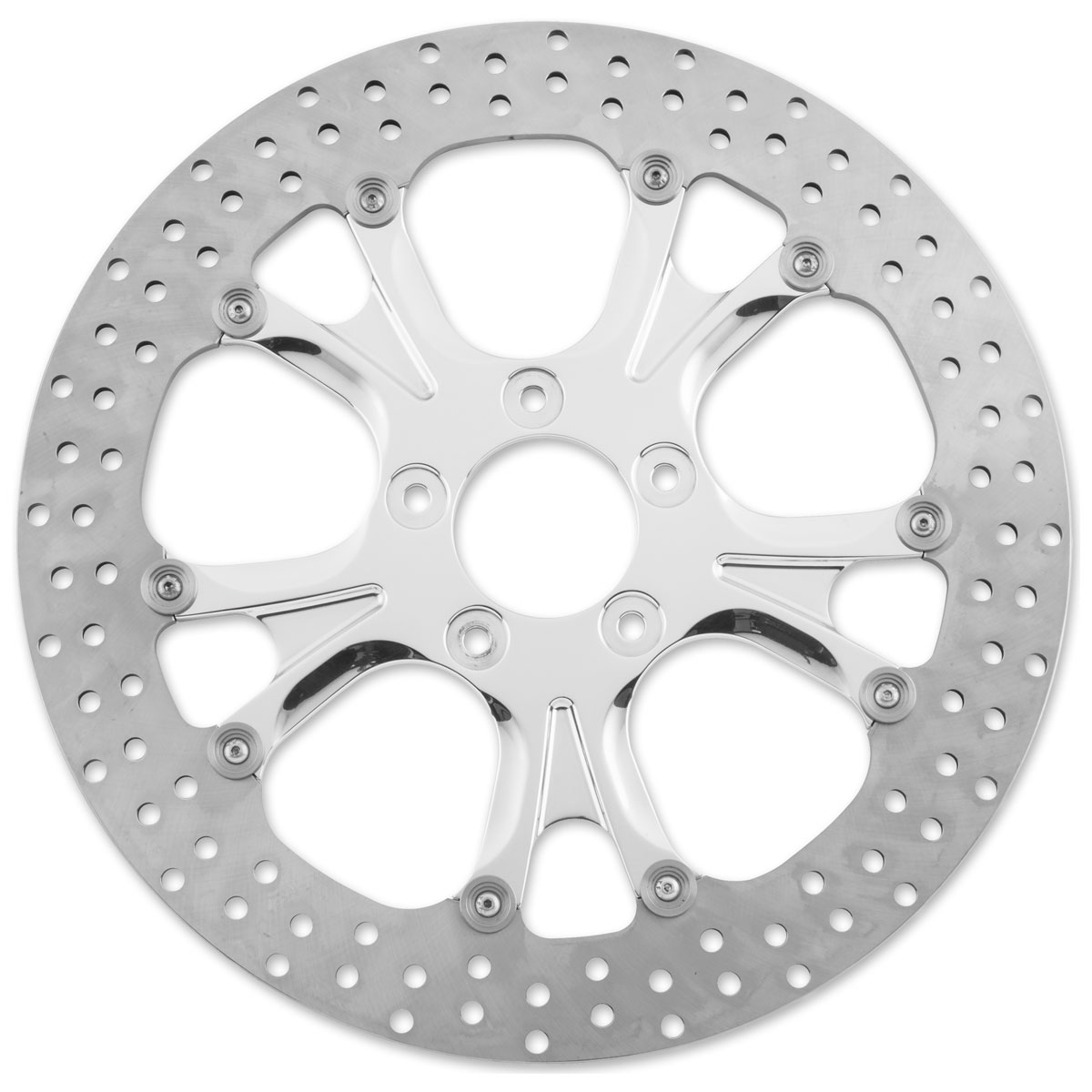 Performance Machine 13″ Luxe Front Polished Brake Rotor