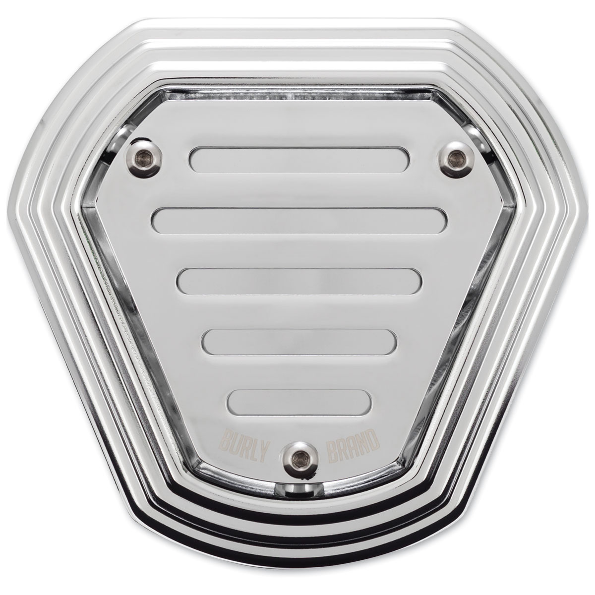 Burly Brand Chrome Hex Air Cleaner
