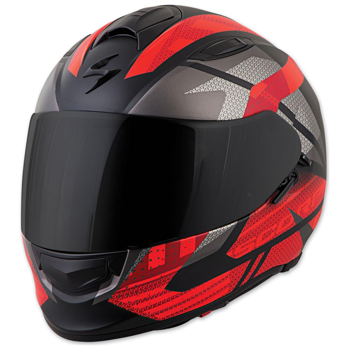 Scorpion EXO EXO-T510 Fury Black/Red Full Face Helmet