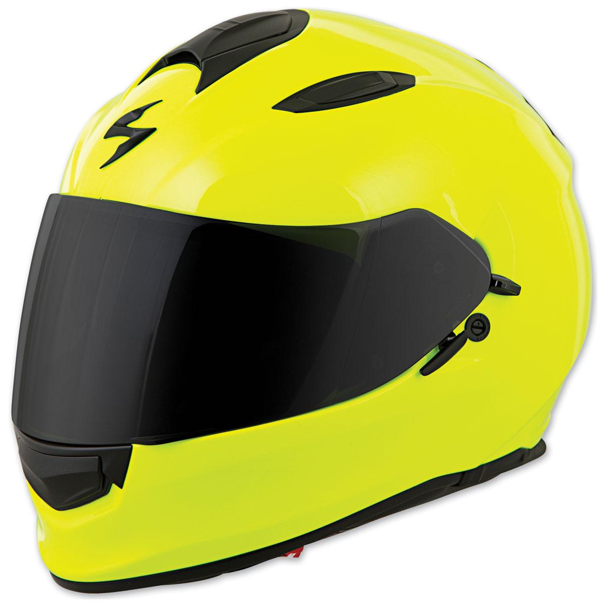 Scorpion EXO EXO-T510 Solid Neon Full Face Helmet