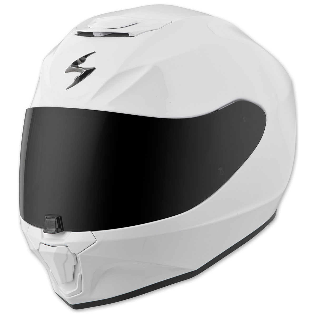 Scorpion EXO EXO-R420 White Full Face Helmet