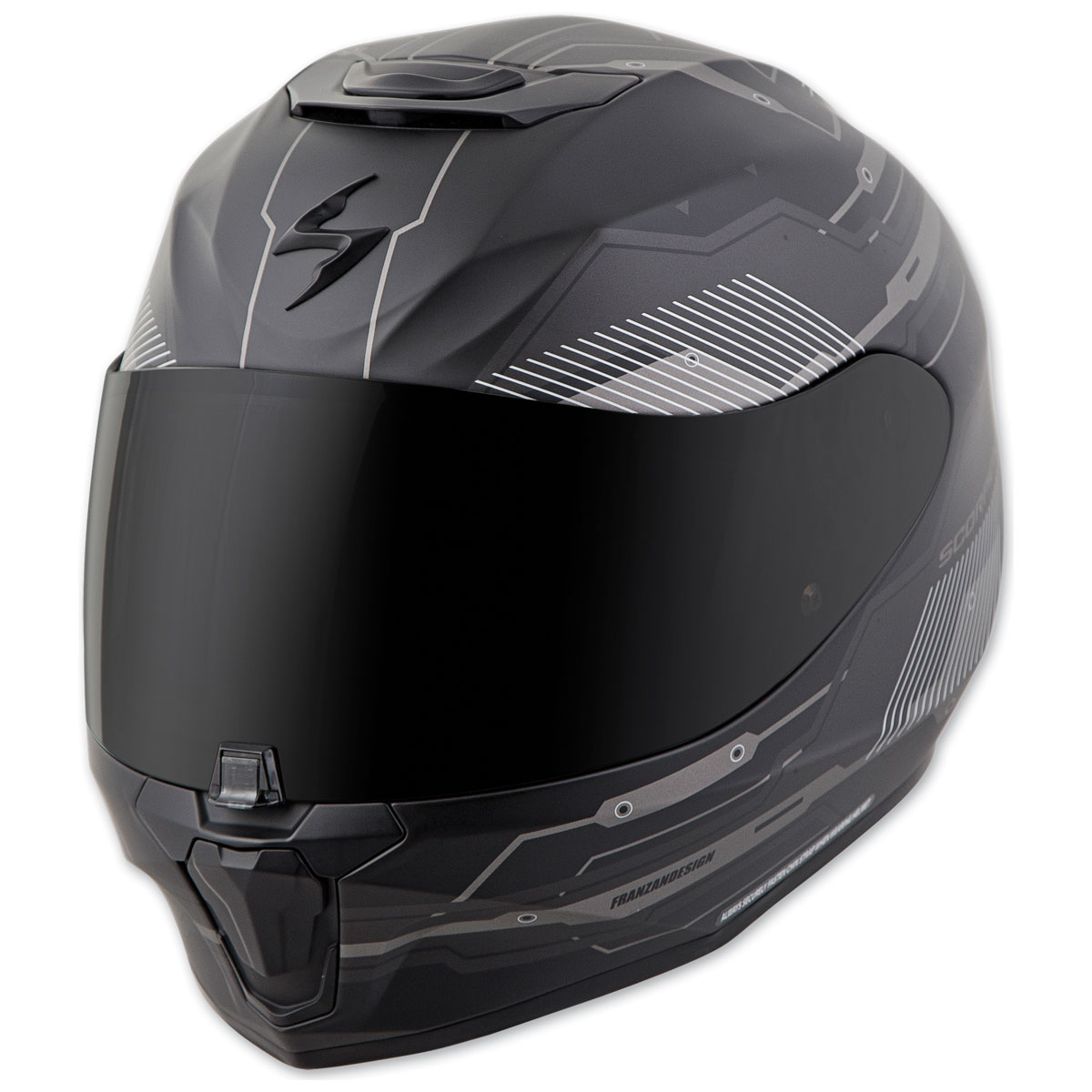 Scorpion EXO EXO-R420 Techno Phantom Full Face Helmet