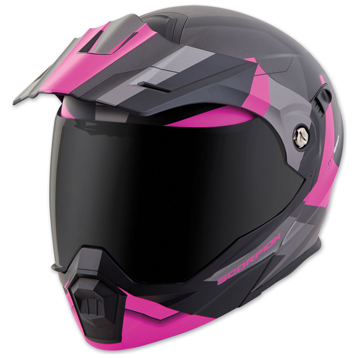 Scorpion EXO EXO-AT950 Neocon Pink Modular Helmet