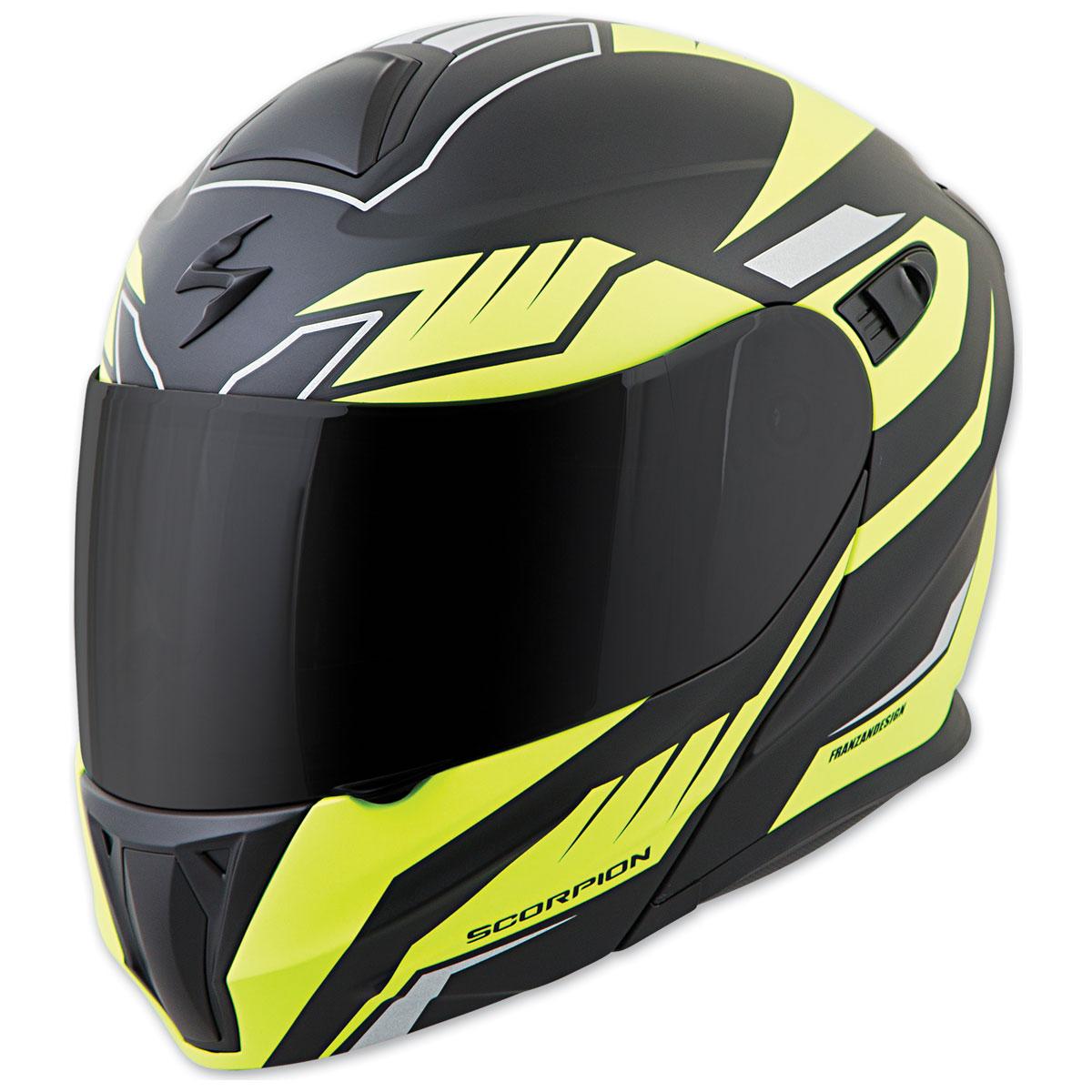 Scorpion EXO EXO-GT920 Shuttle Neon Modular Helmet