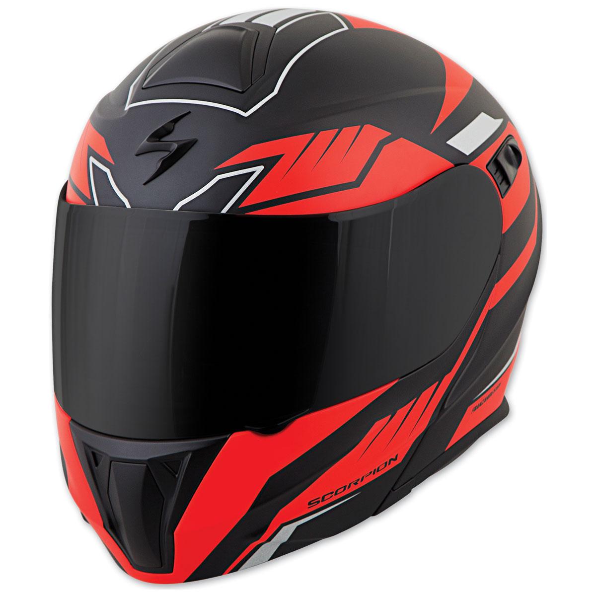 Scorpion EXO EXO-GT920 Shuttle Black/Red Modular Helmet
