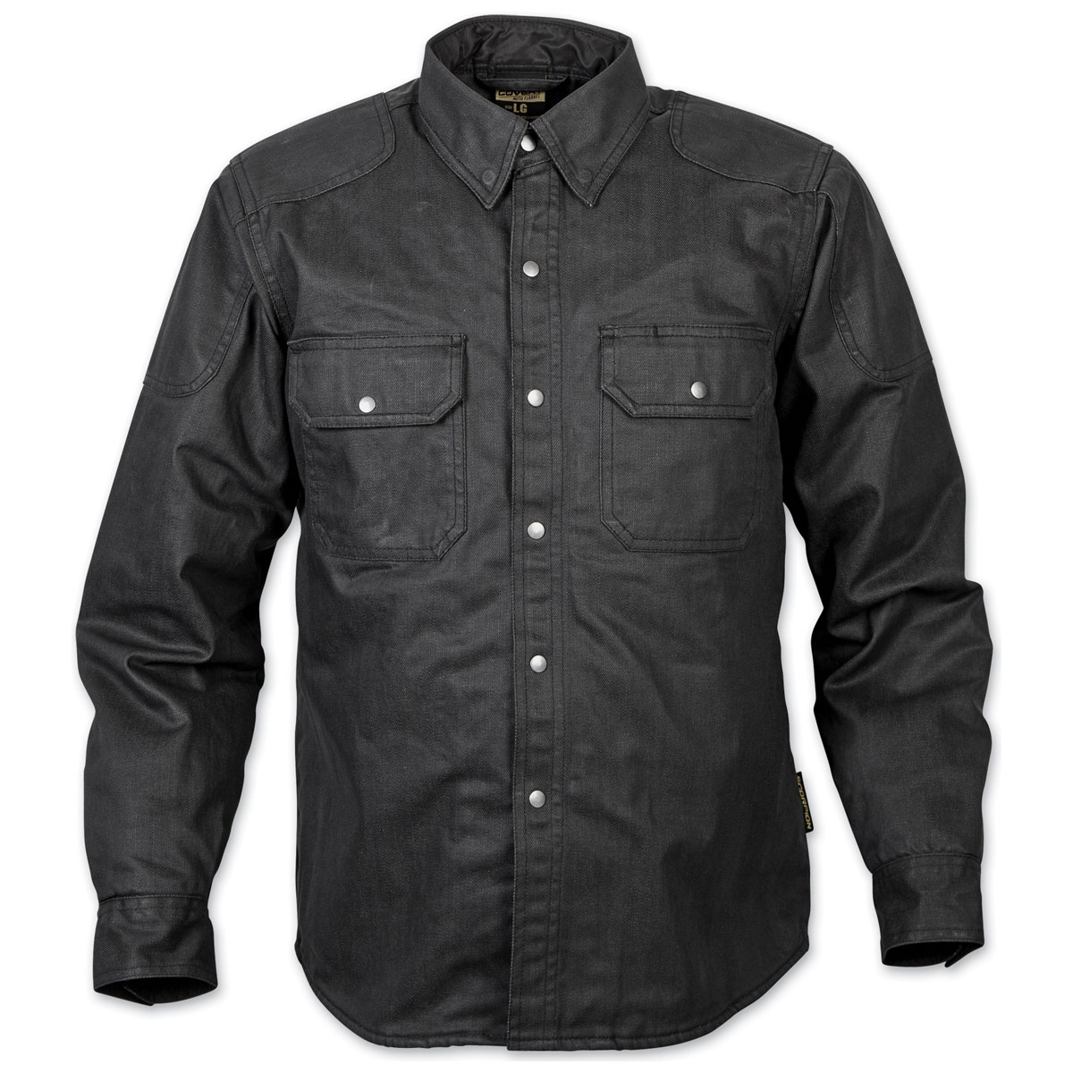 Scorpion EXO Men's Covert Black Waxed Riding Shirt