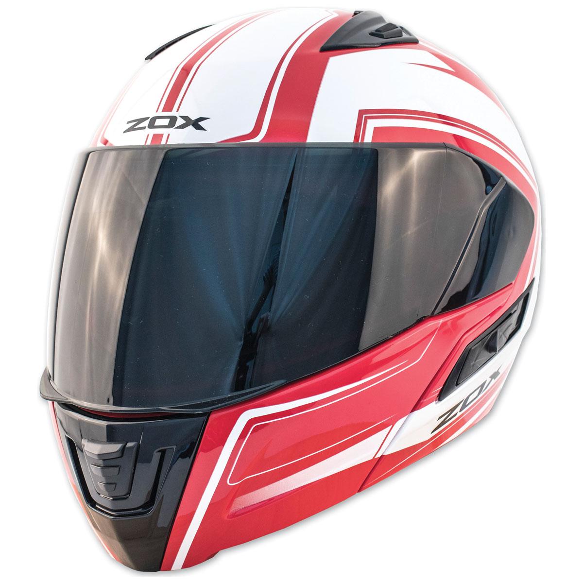 Zox Condor SVS Envoy Red Modular Helmet