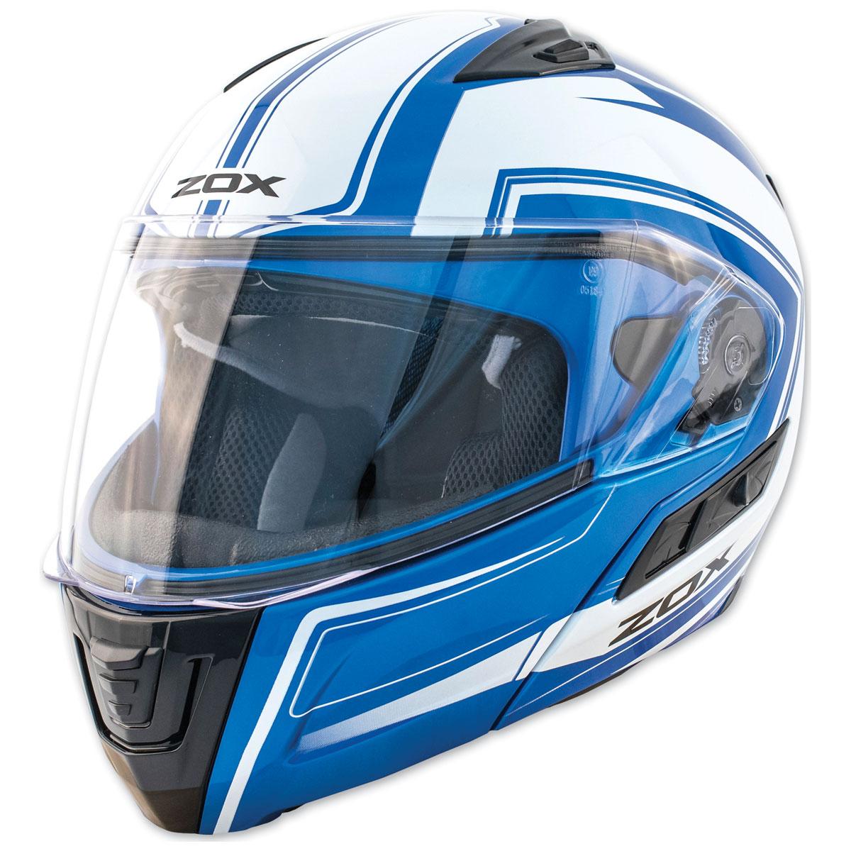 Zox Condor SVS Envoy Blue Modular Helmet