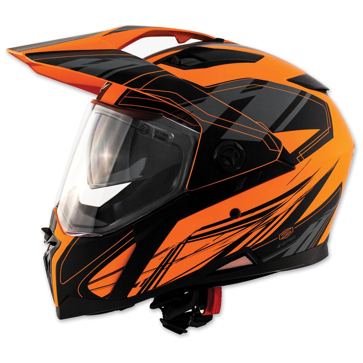 Zox Z-Series Z-DS10 Urbanite Matte Orange Dual Sport Helmet