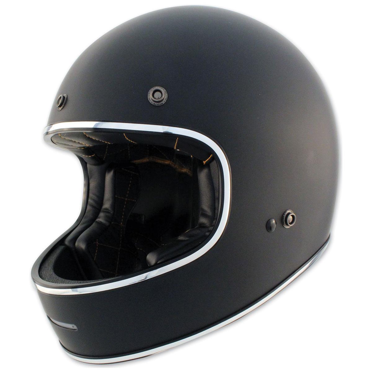 Zox Blitz Matte Black Full Face Helmet