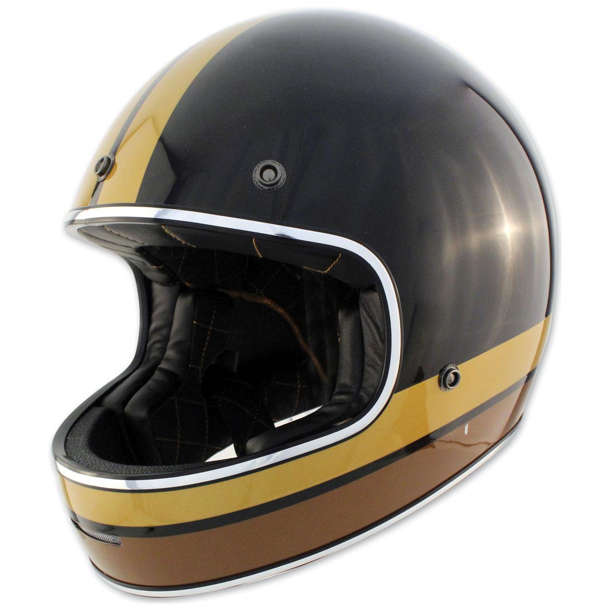 Zox Blitz Vogue Black Full Face Helmet