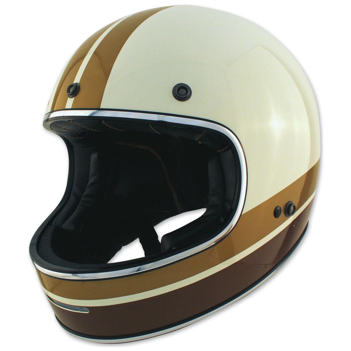 Zox Blitz Vogue Cream Full Face Helmet