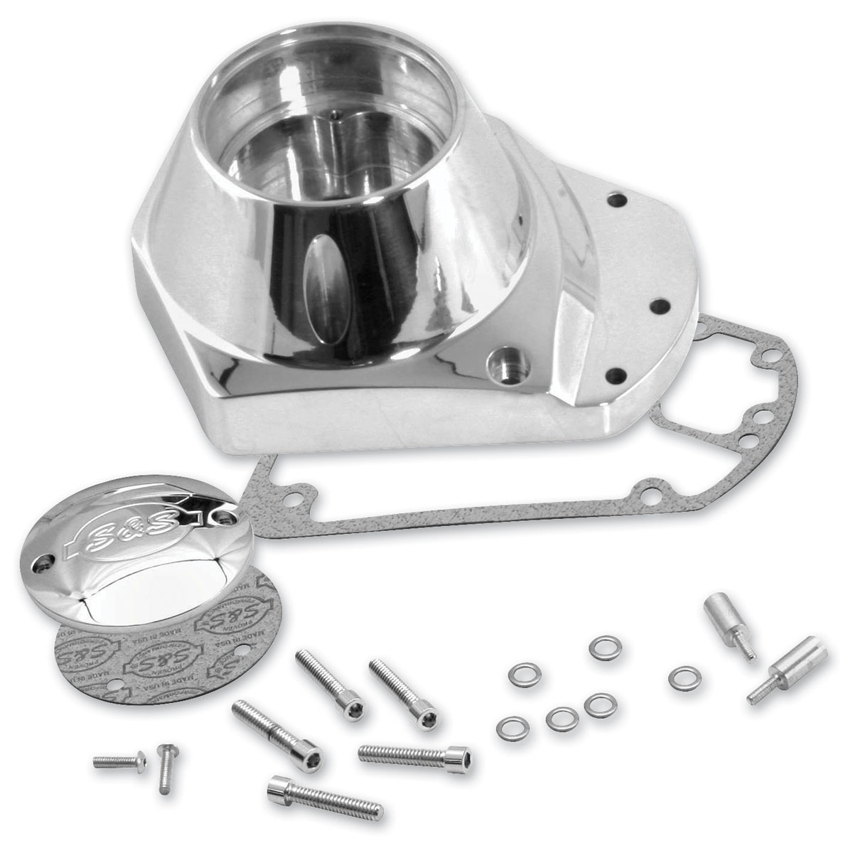 S&S Cycle Billet Camshaft Cover Kit