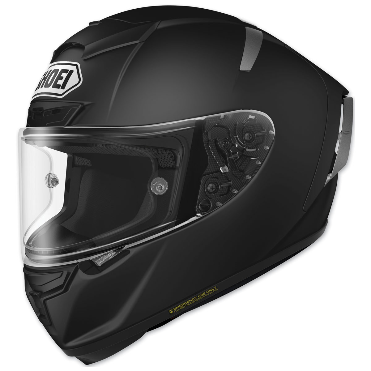 Shoei X-Fourteen Matte Black Full Face Helmet
