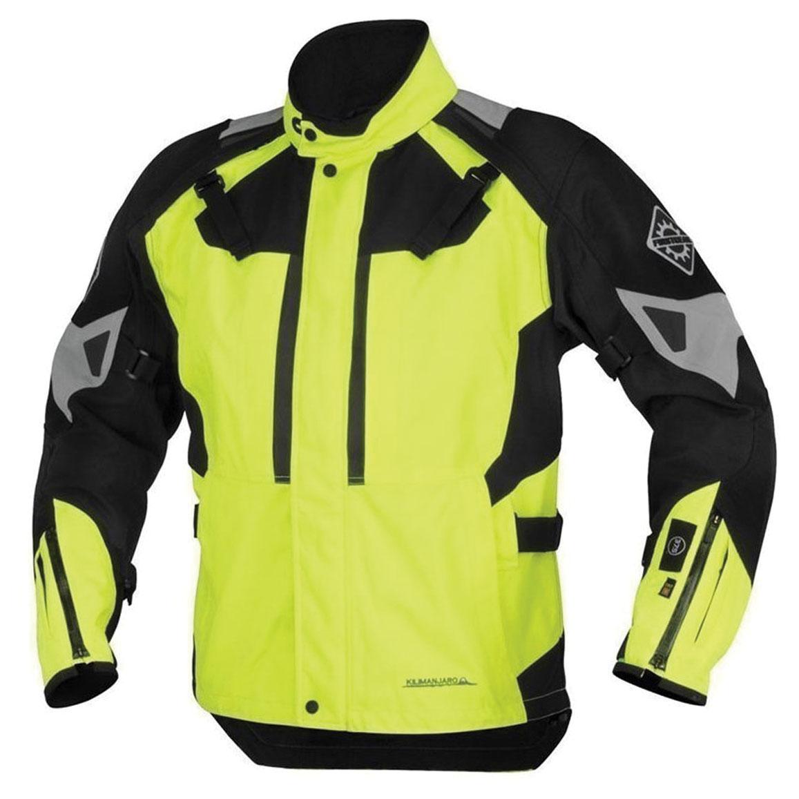 Firstgear 37.5 Men's Kilimanjaro DayGlo/Black Jacket