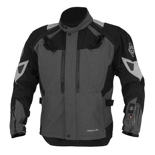 Firstgear 37.5 Women's Kilimanjaro Gray/Black Textile Jacket