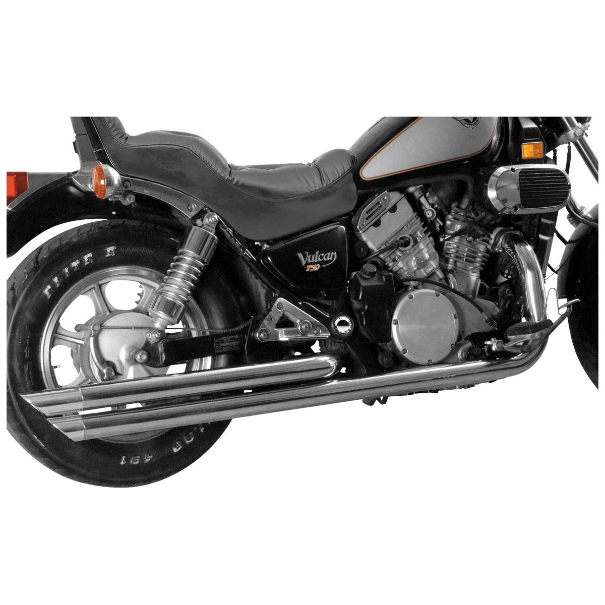 MAC Adjustable Billet Tip Exhaust Chrome