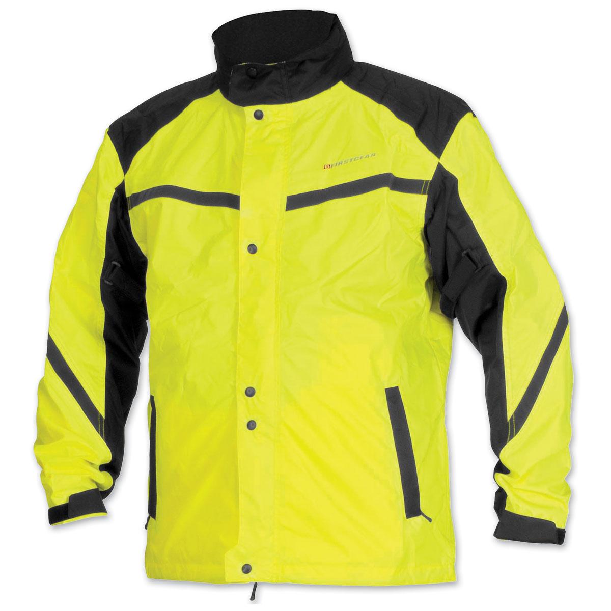 Firstgear Men's Sierra DayGlo Rain Jacket
