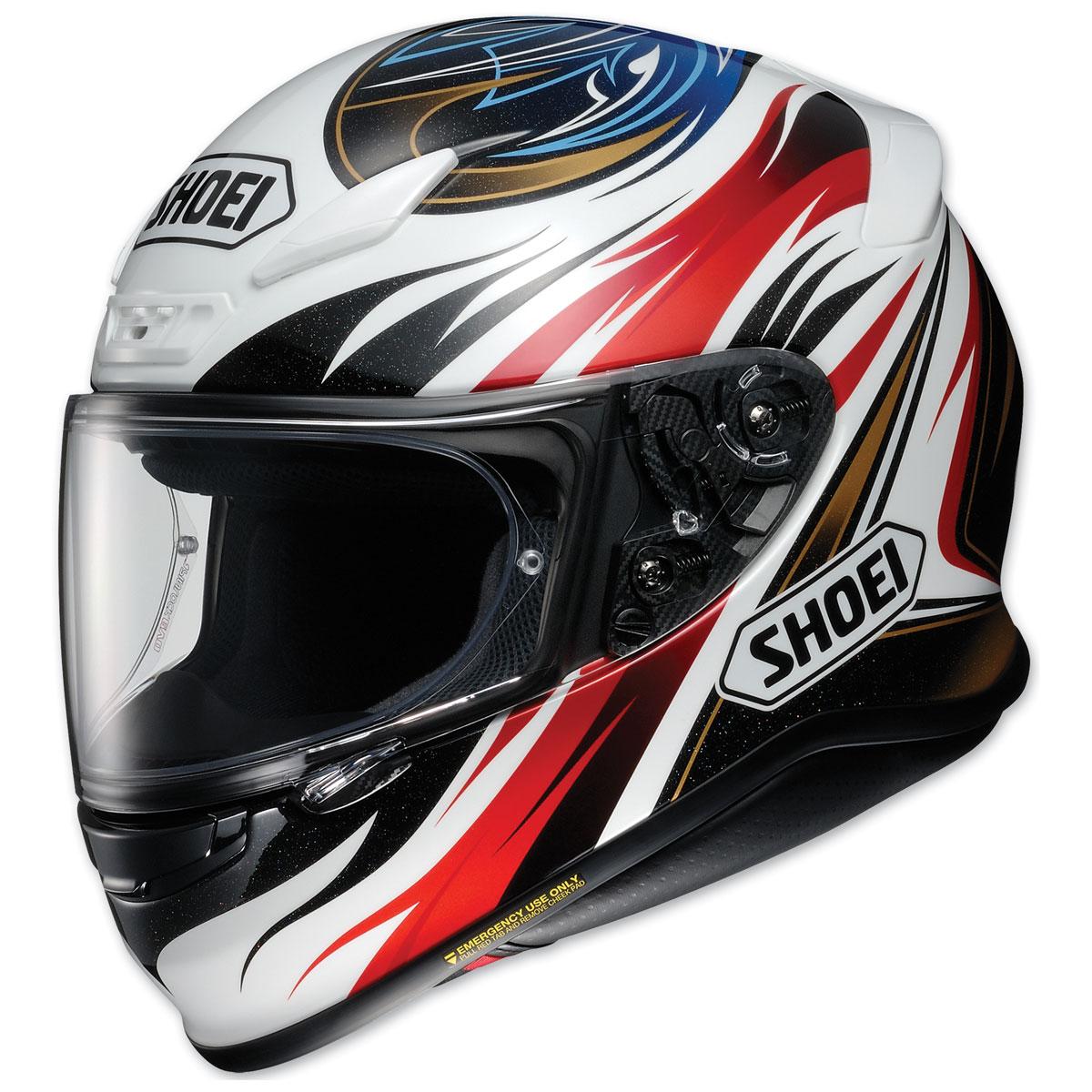 Shoei RF-1200 Incision Black/Red/White/Blue Full Face Helmet
