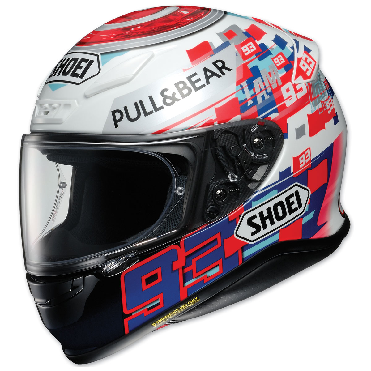 Shoei RF-1200 Marquez Power Up! Full Face Helmet