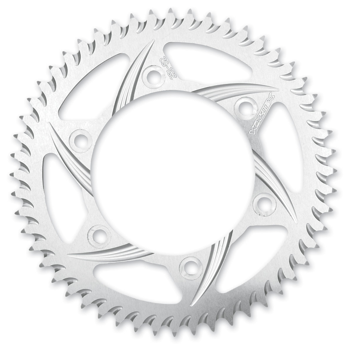 Vortex Rear Sprocket 520 Conversion 47T Silver