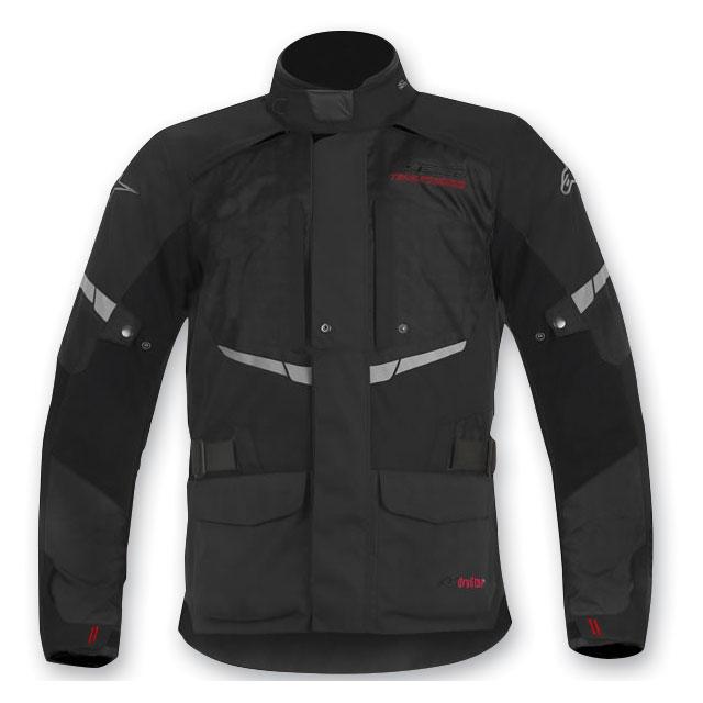 Alpinestars Men's Andes Drystar Black Jacket