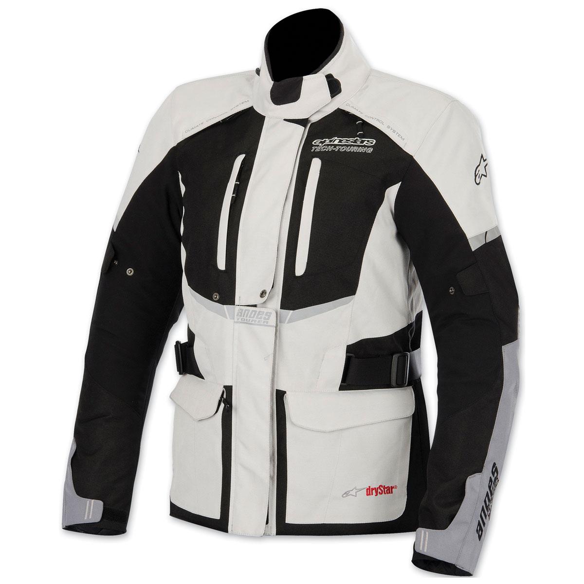 Alpinestars Women's Andes Drystar Light Gray/Black Jacket