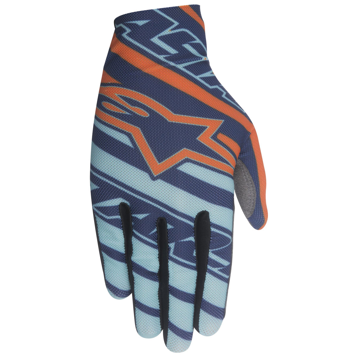 Alpinestars Men's Dune Navy/Turquoise/Orange Gloves