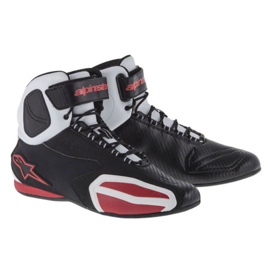 Alpinestars Men's Faster Black/White/Red Shoes