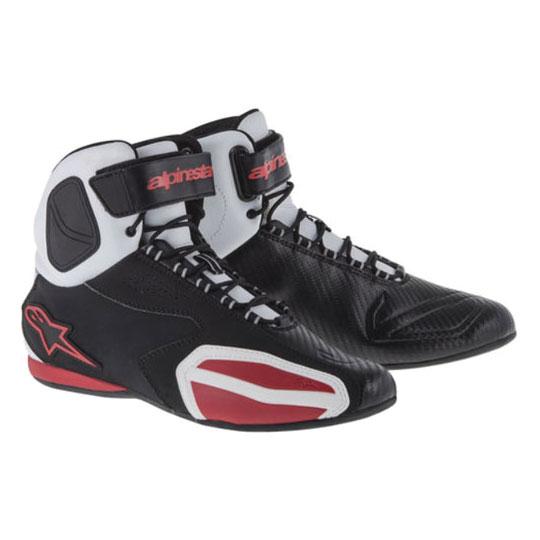 Alpinestars Men's Faster Black/White/Red Shoes