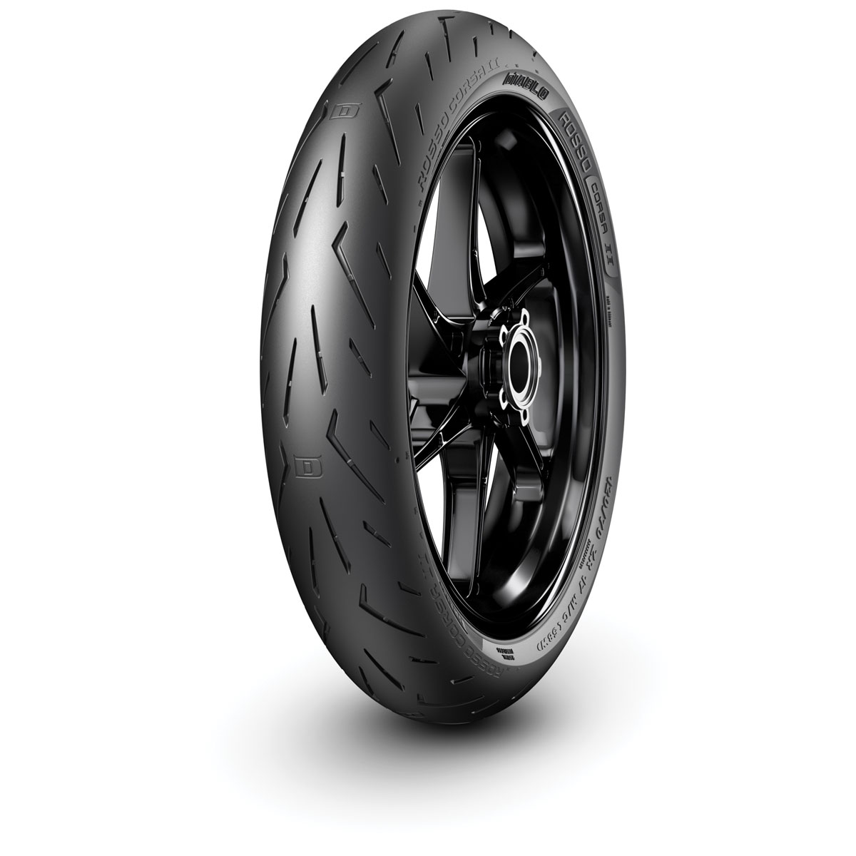 pirelli diablo rosso corsa ii 120 70zr17 front tire. Black Bedroom Furniture Sets. Home Design Ideas