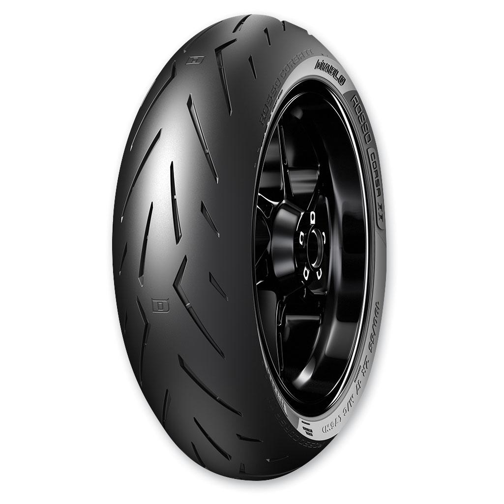Pirelli Diablo Rosso Corsa II 160/60ZR17 Rear Tire