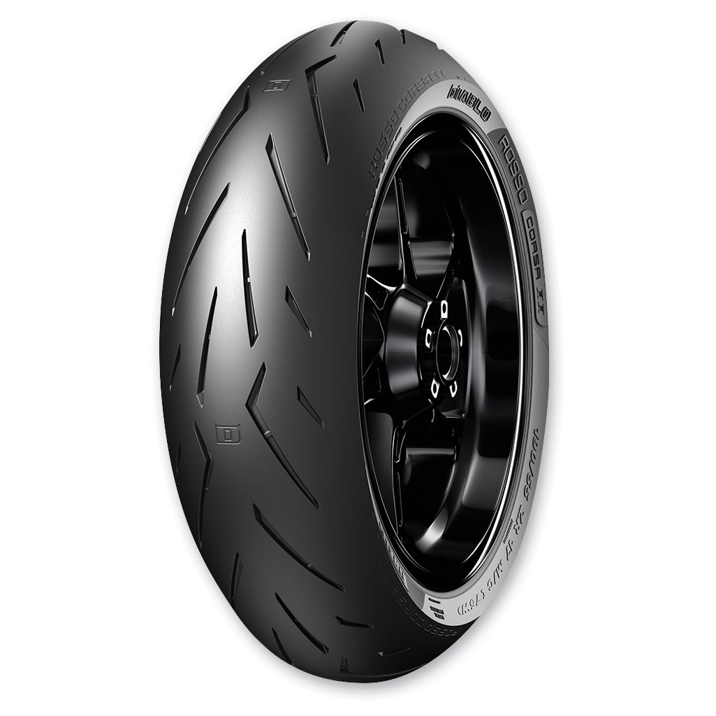 Pirelli Diablo Rosso Corsa II 180/55ZR17 Rear Tire