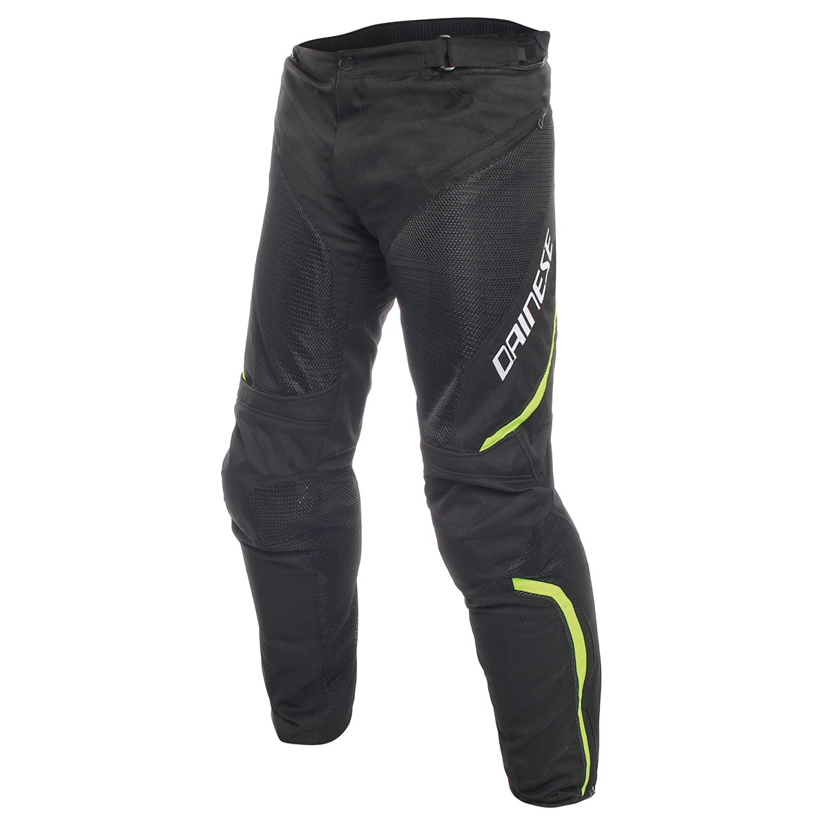 Dainese Men's Drake Air D-Dry Black/Black/Yellow Pants