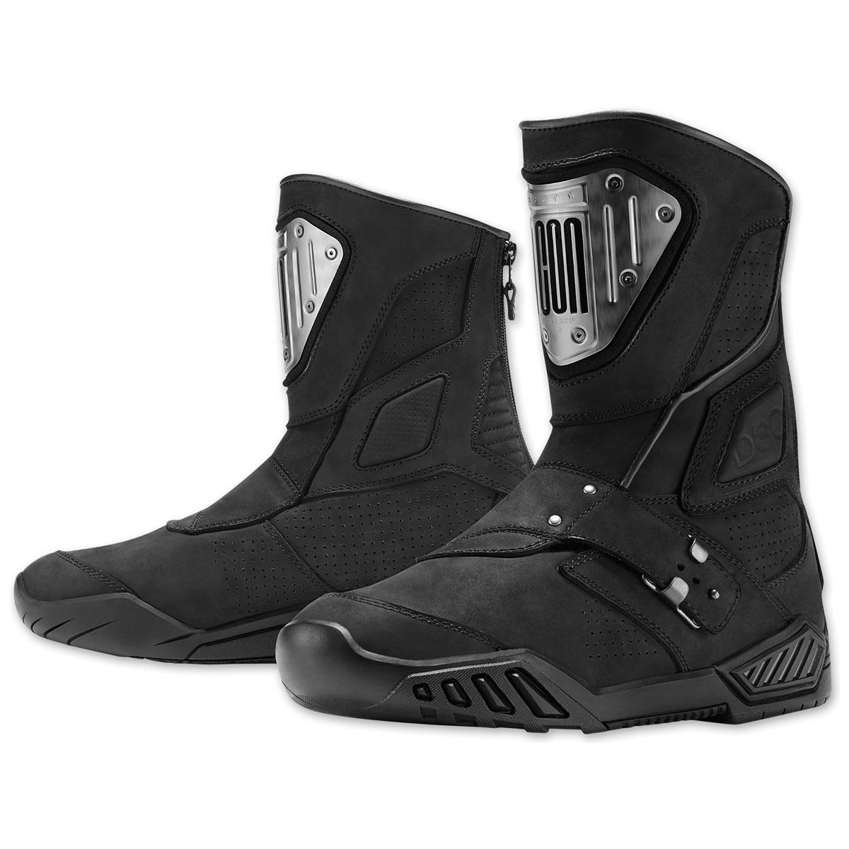 ICON Men's Retrograde Black Boots