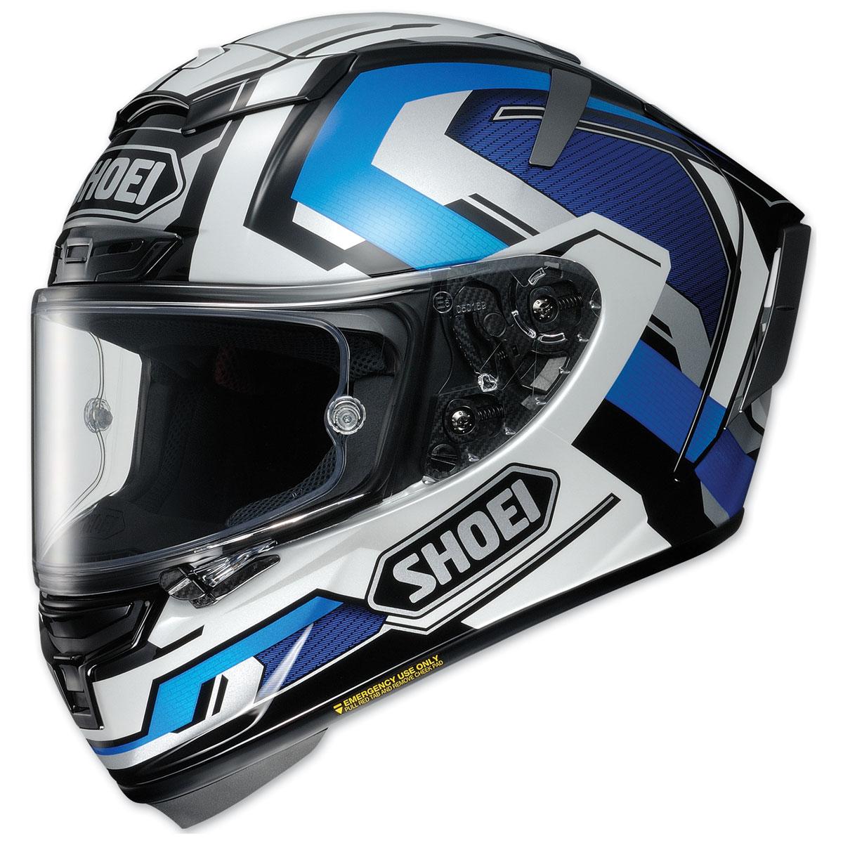 Shoei X-Fourteen Brink Blue/White Full Face Helmet