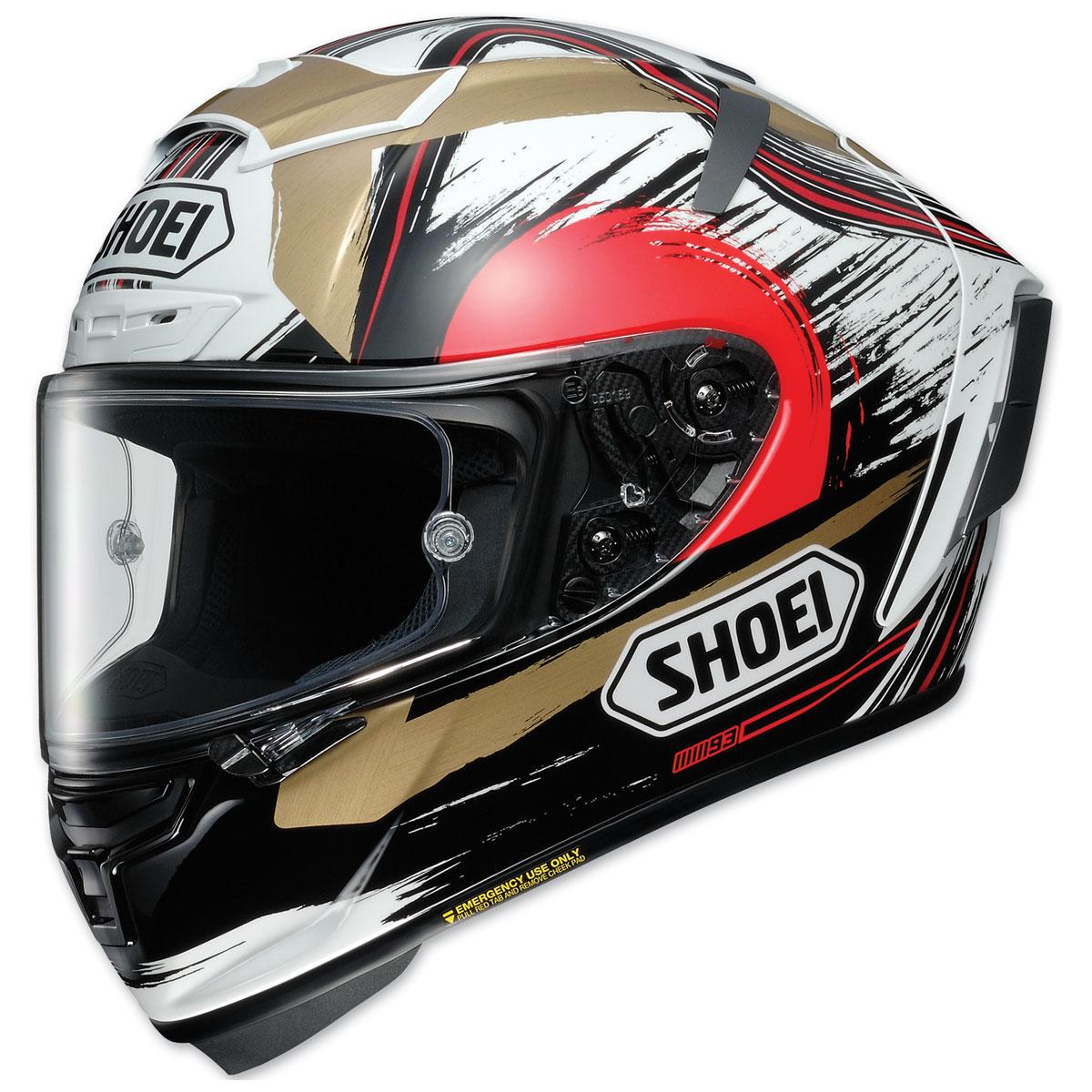 Shoei X-Fourteen Marquez Motegi 2 Full Face Helmet