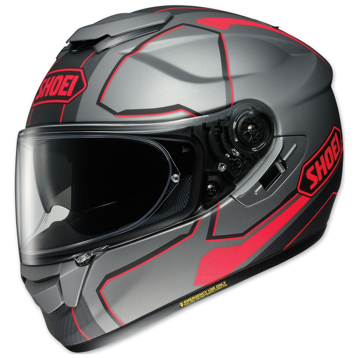 Shoei GT-Air Pendulum Gray/Black/Red Full Face Helmet