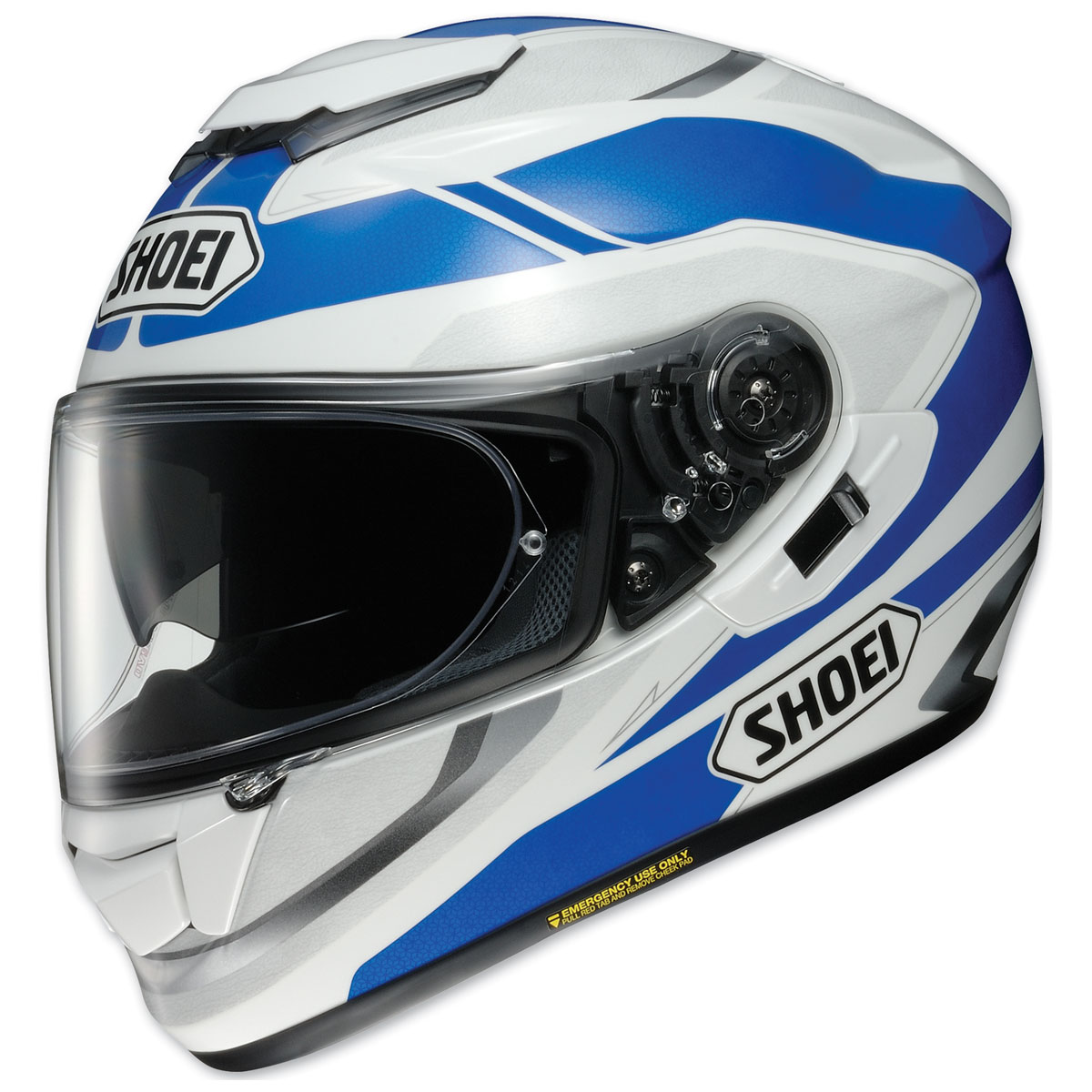 Shoei GT-Air Swayer Blue/White Full Face Helmet