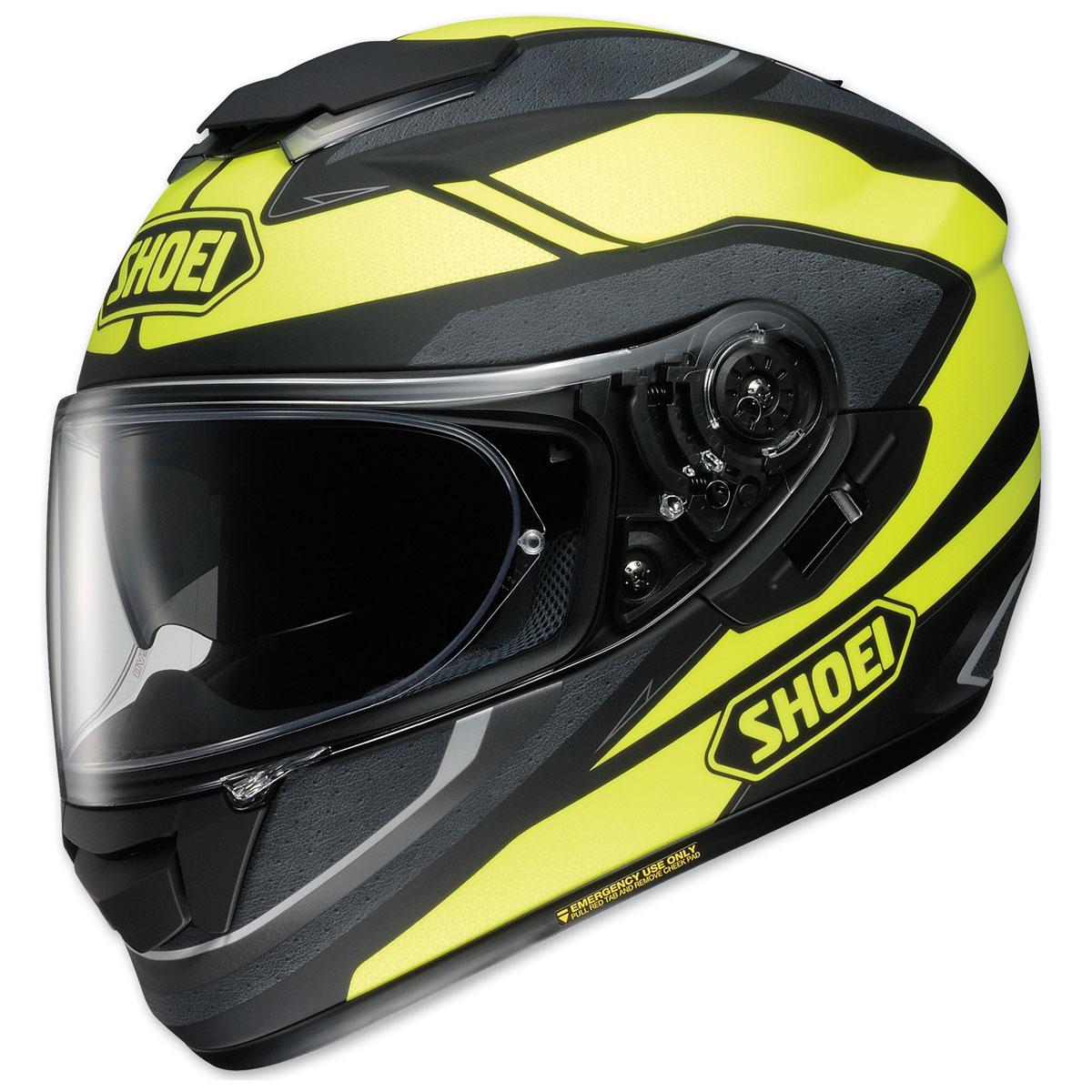 Shoei GT-Air Swayer Matte Black/Hi-Viz Full Face Helmet