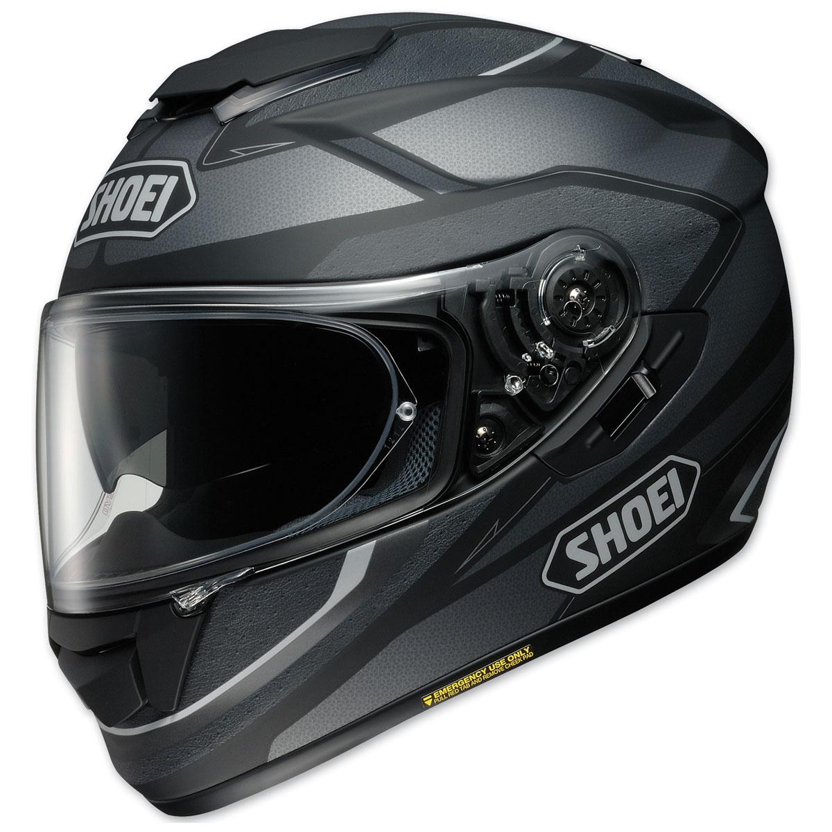 Shoei GT-Air Swayer Matte Black/Gray Full Face Helmet