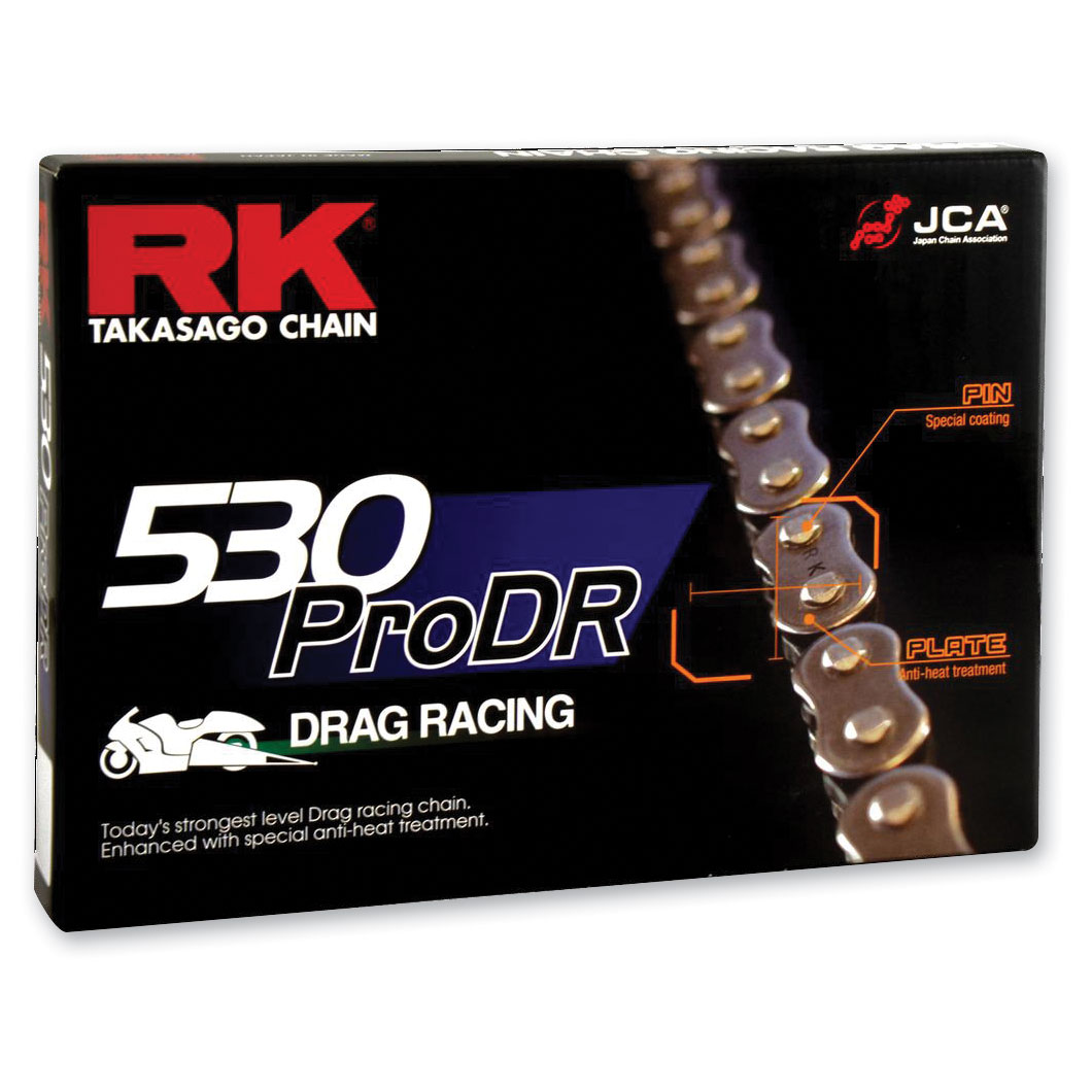 RK Chains Pro Drag Chain 530 Natural