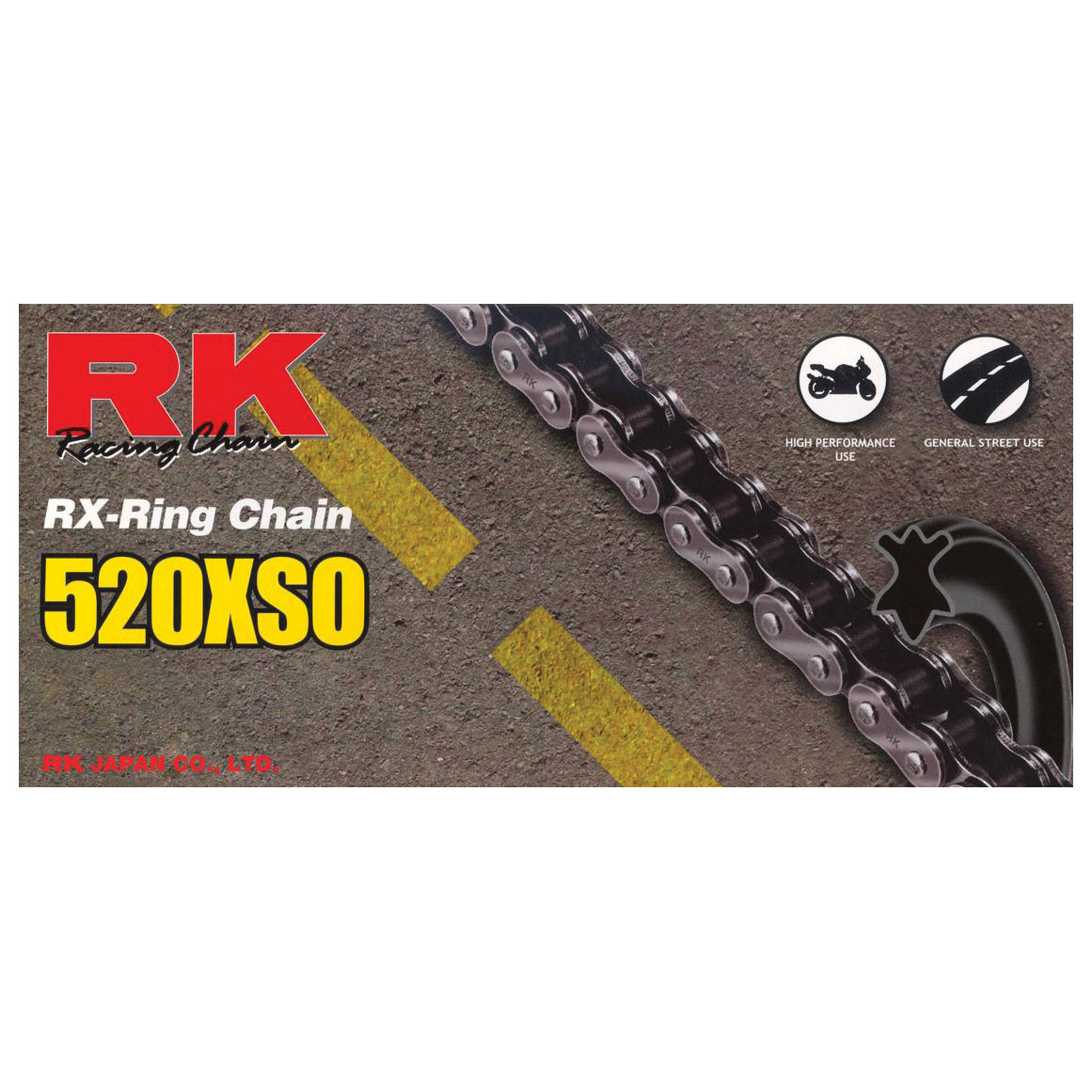 RK Chains XSO Chain 520 Natural