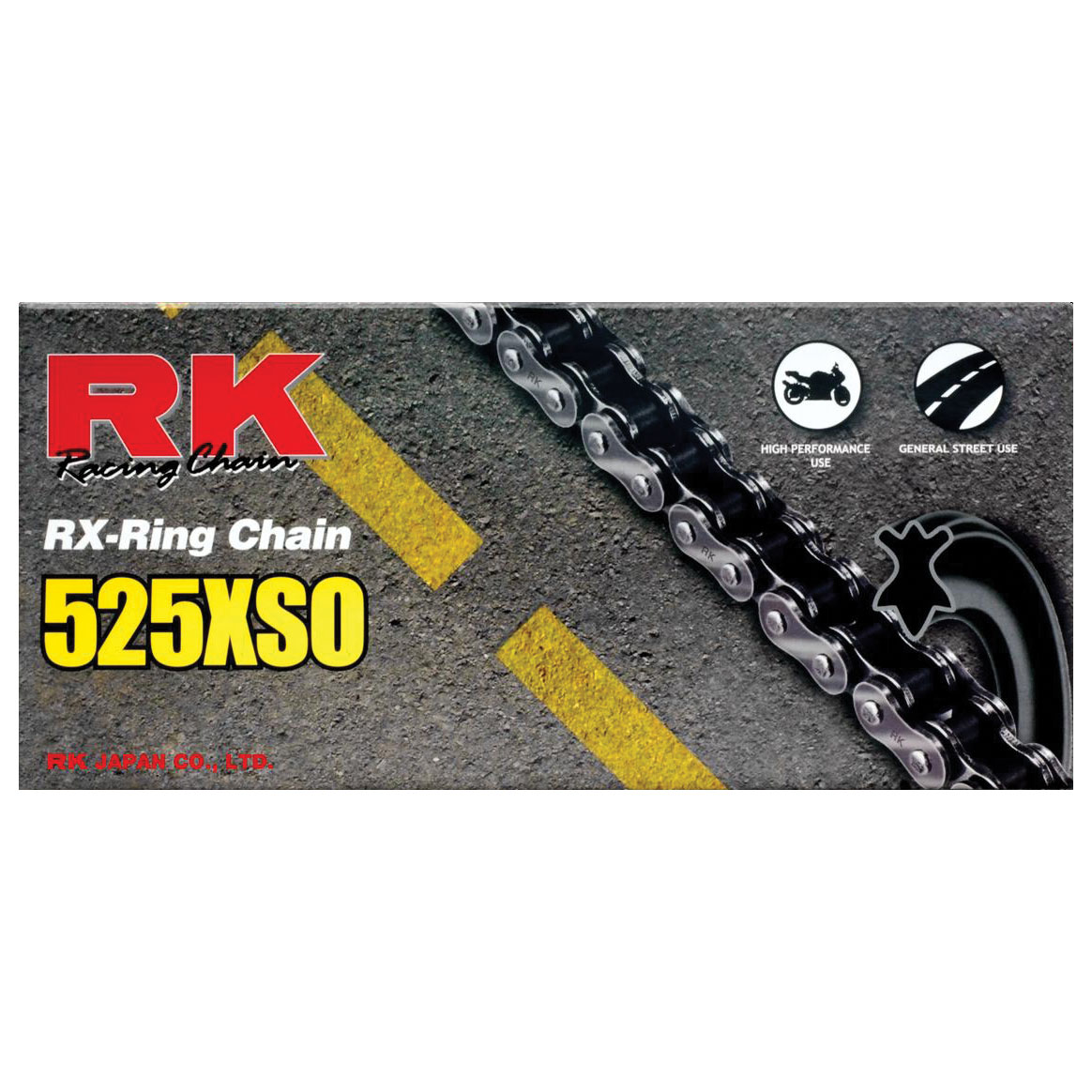 RK Chains XSO Chain 525 Natural