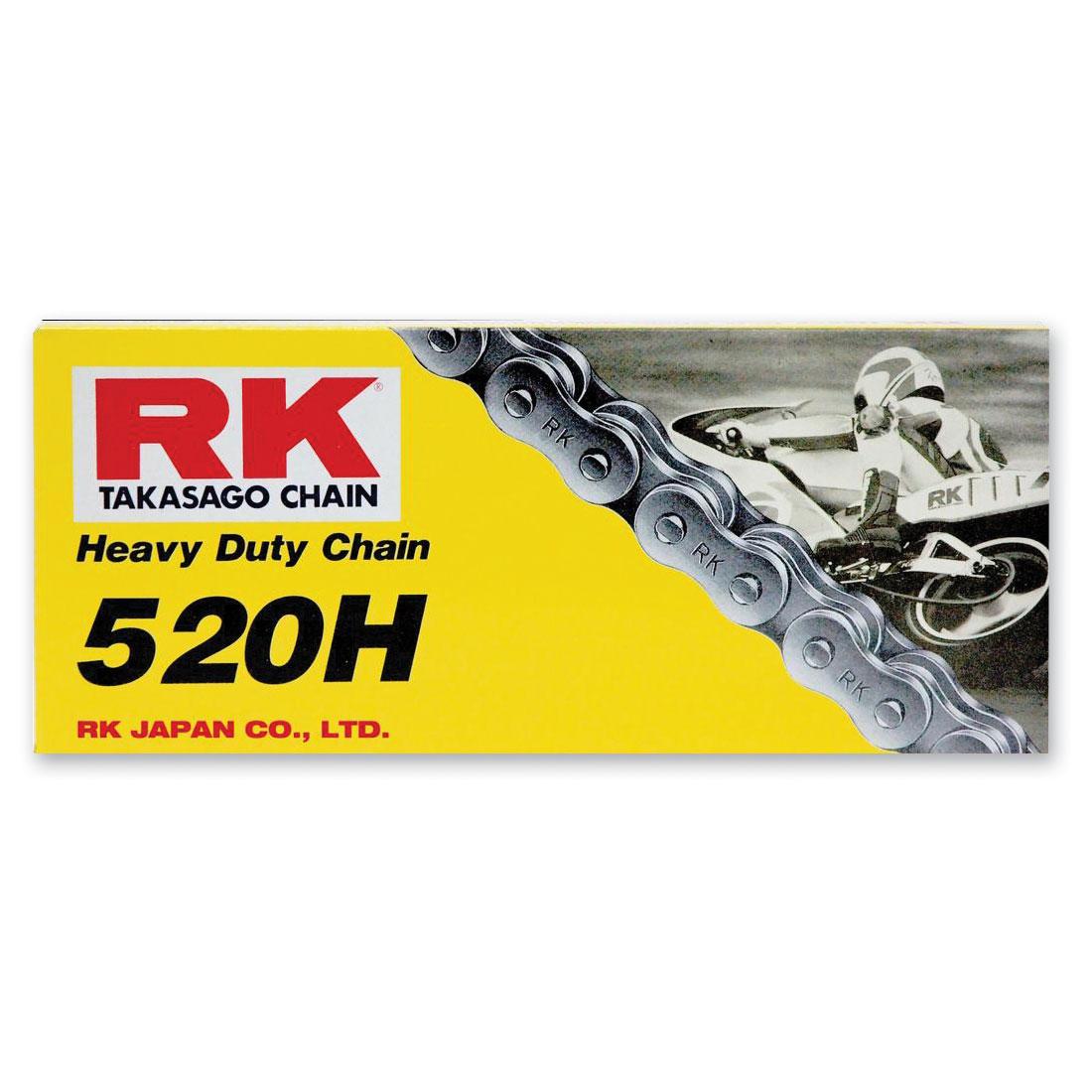 RK Chains M Heavy Duty Chain 520 Natural