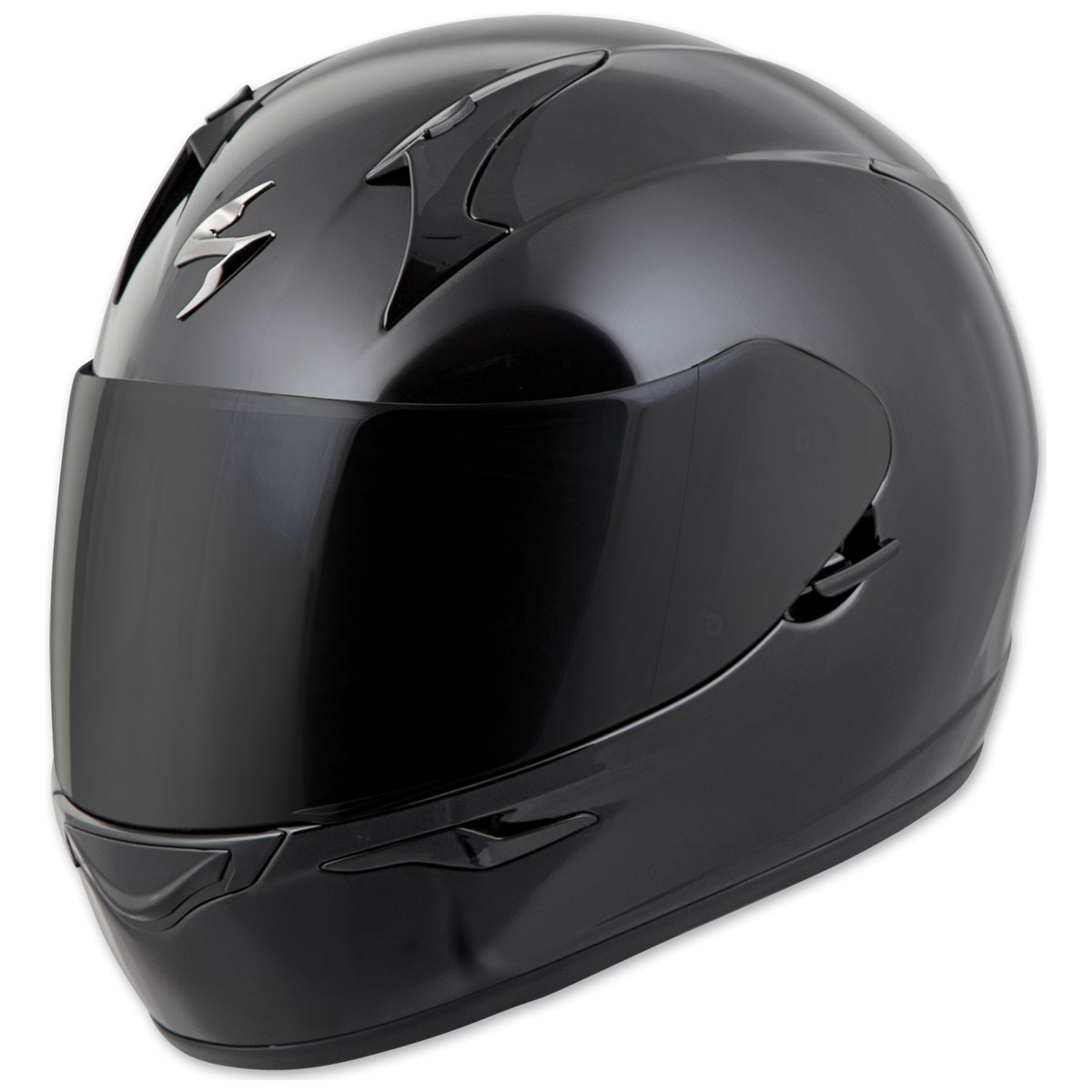 Scorpion EXO EXO-R320 Gloss Black Full Face Helmet
